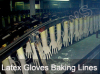 Latex Gloves Baking Lines