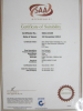 SAA certificate of Zhihai Genius Light