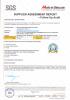 Highbright SGS Certificate