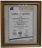 Certificate of Registration ISO 9001:2008