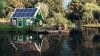 Solar Fridges Freezers Air conditioners applied in suburban villas