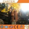 Indian clients visit CT85 mini excavator