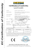 CE Certificate of Infaltable sport games