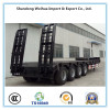 4 Axles low flatbed semi-trailer