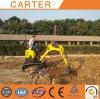 Germany clients visit CT16-9D zero tail mini excavator