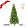 7FT Hot Sales Wholesale High Quality Artificial PE+PVC Christmas Trees with Pine Cone