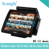 15 Inch POS System with Dual Display with Touch Screen Monitor