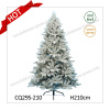 2017 Fashionable PE+PVC Christmas Decoration Christmas Tree with Snow