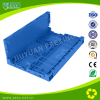 Foldable plastic crate series