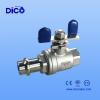 press ball valve