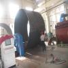 This level of the three rollers veneer reeling machine