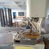 Power line winding shop, winding machine