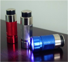 Auto emergency use car rechargeable mini led flashlight