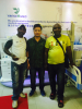 Andy met Cameroon customer on lab items
