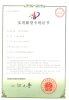 Aileen Violin Bow Patent Certificate