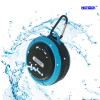 Round Fixable Waterproof Portable Mini Wireless Bluetooth Speaker