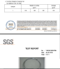 SGS CERTIFICATE of STEEL WIRE and GABION
