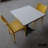 Kingkonree Solid Surface Custom Made Restaurant Tables