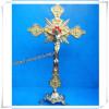 Religious Zinc Alloy Standing Crucifix Cross (IO-ca002)