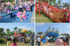 Guagngzhou children's Park Outdoor Playground Equipment