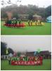 A Team building activity at Muwan