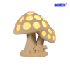 Sandstone Sculpture Mushroom Statue LED Lamp with Loudspeaker