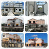 Light steel structure villa house with 2 floor for big family