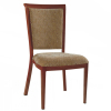 American Style Aluminum Hotel Banquet Imitation Wood Chair