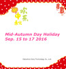 Mid-Autumn Day Holiday Notice