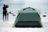3 person autoamtic camping tents with rainfly