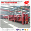 50 units good quality China factory skeleton container semi trailer for West Africa market
