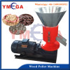 Flate Die sawdust straw wood pellet machine