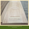 Natural veneer faced mould door skin hdf