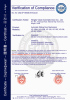 CE certificate of automatic sliding door system