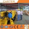 Nigeria clients visit Carter EBZ35 Mini Roadheader