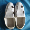 PU sole white four holes ESD shoes