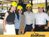 Clients from Bangladesh visit our Glass Wool factory