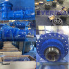 Q series planetary gearbox reducer gear unit in production