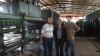 Rubber Conveyor Belt Vulcanizing Press buyer from Vietnam