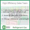 High Efficiency Sales Team