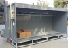 powder coating booth export to France