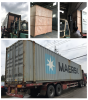 loading 45HQ container for water filling line