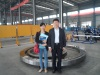 Client from South Korea visited our factory