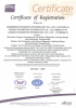 ISO certificate of company
