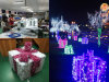 Multi Color Led Gift Box Decoration