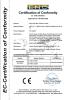 file cabinet CE certificate