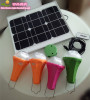20W solar lighting kits with 4pcs rechargeabel lamp global sunrise lights