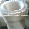 popular style nylon round brush for cutter machine