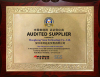 Audtied Supplier Certificate
