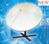 SMC 120cm Satellite Dish Antenna (Glass fiber)